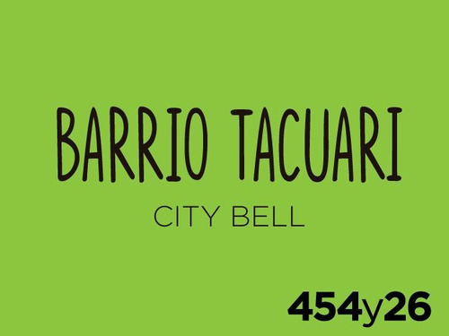 Terreno - City Bell