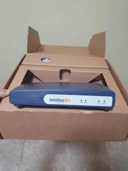Gateway Voip Totalfon 102 Con 2 Puertos Fxs