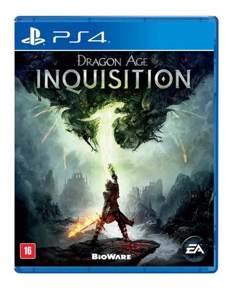 Dragon Age Inquisition Ps4 Mídia Física Novo Lacrado