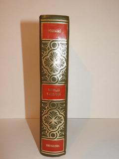Libro Novelas Y Cuentos Voltaire Bruguera