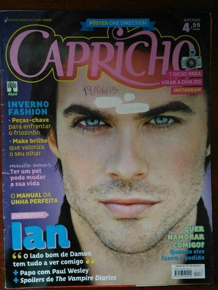 Revista Capricho Capa Ian Somerhalder - N° 1177