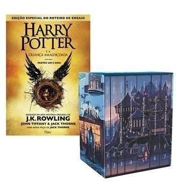 Box Harry Potter + A Criança Amaldiçoada (8 Livros)