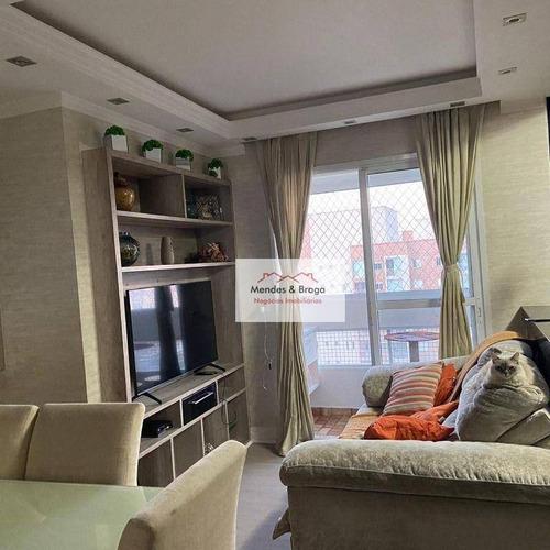Imagem 1 de 23 de Apartamento À Venda, 52 M² Por R$ 342.000,00 - Jardim Flor Da Montanha - Guarulhos/sp - Ap2796