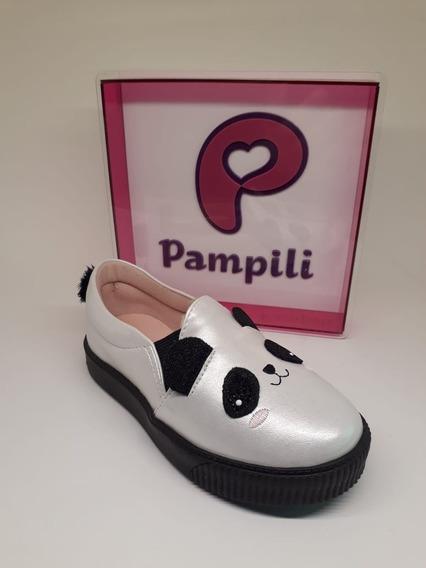 Tenis Infantil Pampili Zoo Panda Luna Original