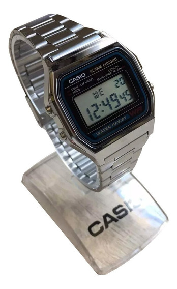 Relogio Casio Digital A158 Retrô Vintage Caixa Original Nf