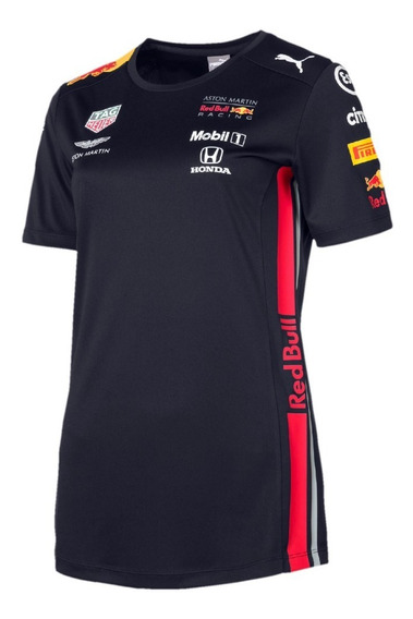 Playera Red Bull Dama Marca Puma 100% Original *modelo 2019*