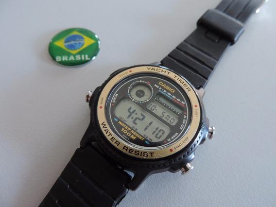 Relogio Casio Yatch Timer- Trw 31- Anos 80