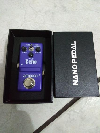 Pedal Ammoon Echo Delay Para Guitarra Violão