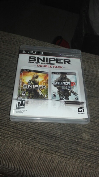 Jogo Sniper Ghost Warrior Double Pack Ps3