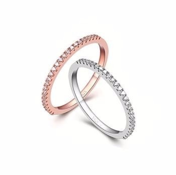 Silver Ring Pair