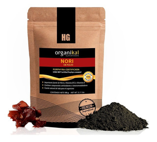 Organikal Superfoods Nori En Polvo 1 Sobre (50 G.) Hydrogrow