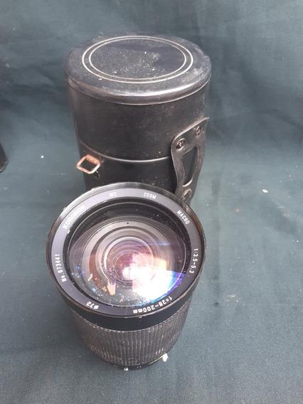 Lente Zoom Macro 1:35 5.3 F=28-200mm 72 Koboron