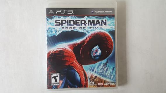 Jogo Spider Man Edge Of Time - Ps3 - Original - Mídia Física