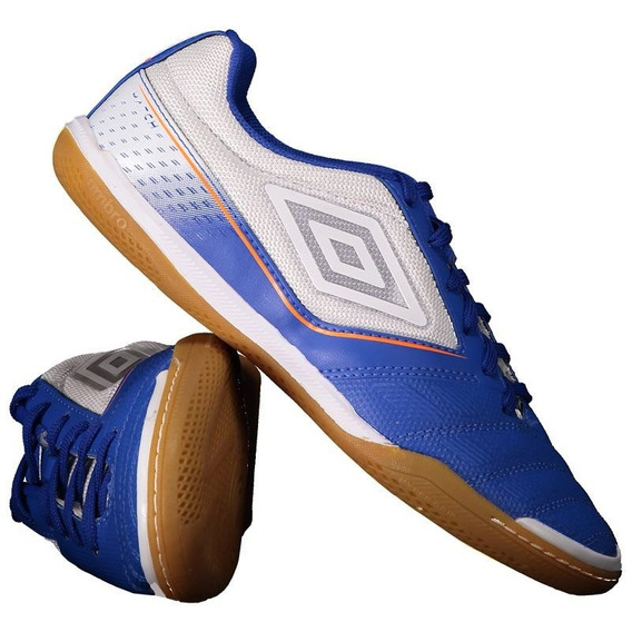 Chuteira Umbro Match Futsal Azul