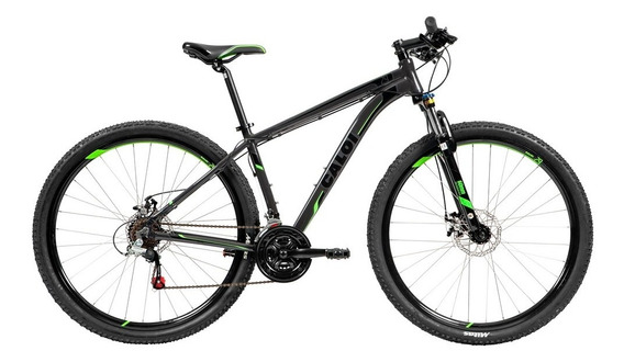Bicicleta Mtb Caloi 29 - Freio A Disco 21 Marcha - Cinza