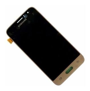Tela Display Lcd Com Brilho Galaxy J1 2016 J120 + Cola