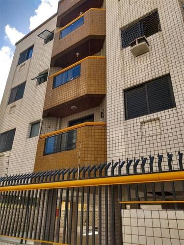 Imagem 1 de 15 de Apartamento Com Um Dormitório, Sala Com Varanda, A 100m Da Praia. - Nff32