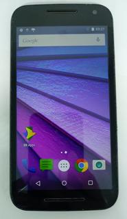 2° Motorola G3 Xt1550 16gb Preto C/ Defeito S/ Garantia