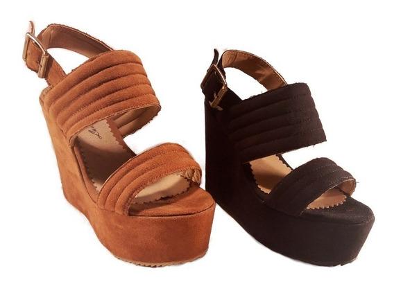 Sandalia Plataforma Alta Ultimo Par 35 Off Shoestore