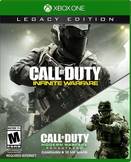 Call Of Duty Infinite Warfare Legacy Xbox One Nuevo