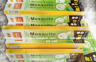 Incensos100 Caixas Contra Mosquitos Fragrâncias Omanthus