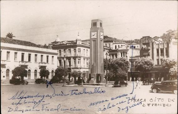 Cartão Postal Antigo Fortaleza Ce Praça Oito Setembro 1952