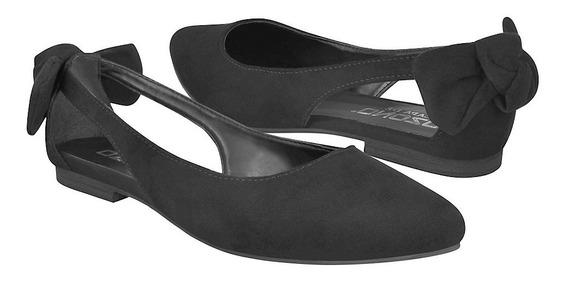 Zapatos Casuales Para Dama Capa De Ozono 333448-1 Negro