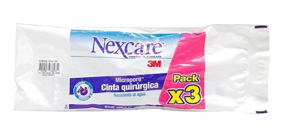 Nexcare Cinta Quirurgica Pack X3