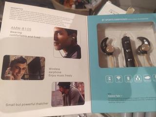 Auriculares Bluetooth Deportivos Amw-810s