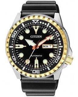 Reloj Citizen Nh8384-14e Automatic Calendario Doble Liniers