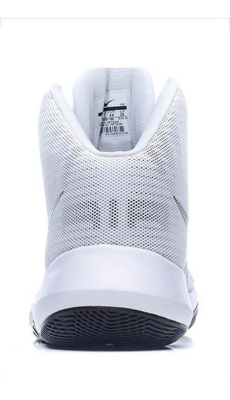 Zapatillas Deportivas De Basket Air Precision Us 15 Blancas