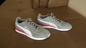 Zapatos Puma Turin Gris Talla 8.5 Hombre