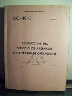 Adp Conduccion Del Servicio De Arsenales En El Teatro De Op