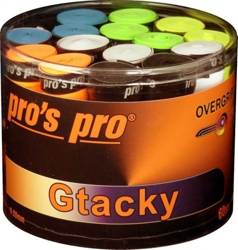 Cubregrips Pros Pro Gtacky Pack X60 Tenis Padel