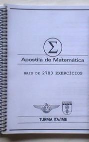 Ita / Ime Apostila Poliedro - Matemática (com Gabarito)