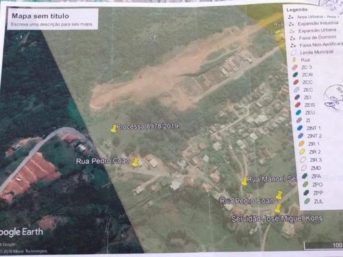 Terreno À Venda, 8801 M² Por R$ 400.000,00 - Área Rural De Biguaçu - Biguaçu/sc - Te0904