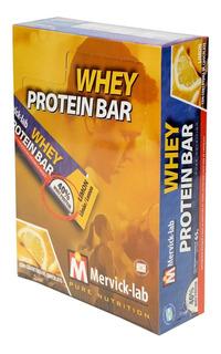 Whey Protein Bar Mervick Barritas Proteícas 18 Barras X65 Gs