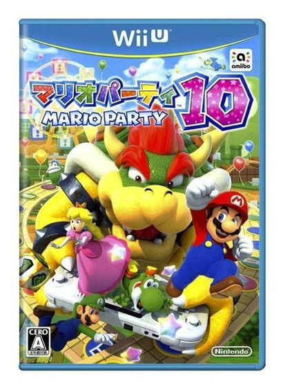 Mario Party 10 Wii U Japonês Mídia Física Pronta Entrega