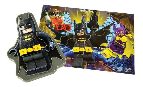 Rompecabezas Infantil 12 Piezas, Estuche Lego Batman, Oferta