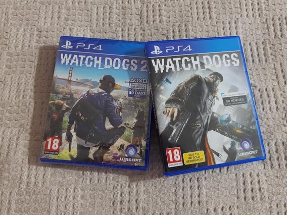 Novowatch Dogs 1 E 2 Ps4 Midia Fisica- (novo)(promoção)