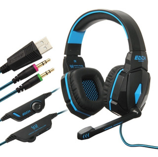 Diadema Audifono Gamer Kotion Each G4000 Pro Gaming Headset