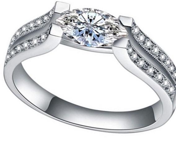 Anéis De Casamento Para As Mulheres De Pedra De Cri