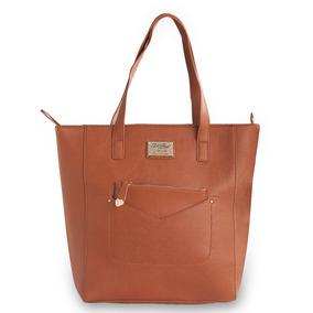 Bolsa Tote Bag Grande Classic Betty Boop Bp1703 Caramelo