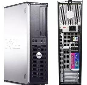 Cpu Dell Core 2 Quad 4gb Hd 250 *gravador *caixinha De Som