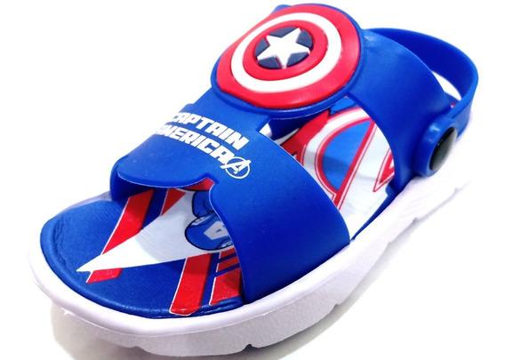 Sandalias Marvel Eva Capitán América Baby