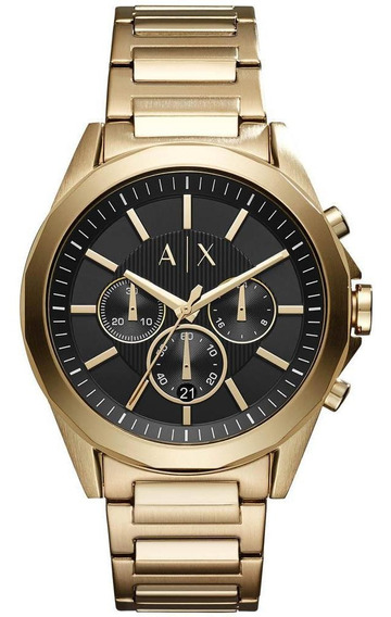 Relógio Armani Exchange Dourado Ax2611/4cn