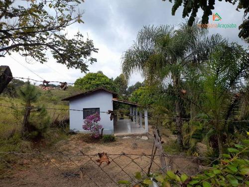 Chácara Com 1 Dormitório À Venda, 6815 M² Por R$ 195.000,00 - Jundiacanga - Araçoiaba Da Serra/sp - Ch0246