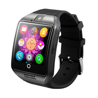 Smartwatch Reloj Inteligente Q18 Celular Con Camara Android Apple iPhone Deportes Newvision