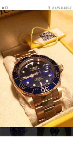 Relógio Invicta Pro Diver 9312 Ouro 18k