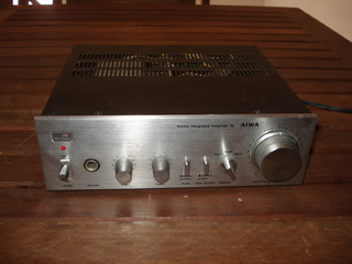 Amplificador Stereo Aiwa 16 Minicompo Made In Japan Exelent